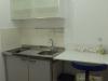 Küche m Kühlschrank Herd